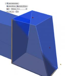 Revestimiento de la estructura utilizando tableros